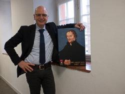 Portrait Martin Abraham anlässlich der Reformationsausstellung; Quelle: ekima - Christoph Zacheus-Hufeisen